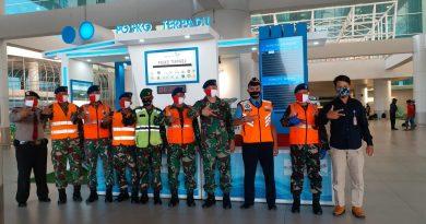 Penerbangan BIJB MasihSepi, TNI AU Buka Posko Terpadu, Satgas Covid-19