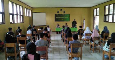 TMMD ke-108, Kapolsek Kalibunder Berikan Penyuluhan Kamtibmas, di Desa Sukaluyu