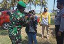 Waspada Covid-19, Pengunjung ke Pantai Keusik Urug, Harus Dicek Suhu Tubuh